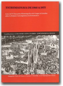 portada libro extremadura 1960 -1975